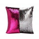 Magic DIY Sequins Pillows Cover Home Textile Decorative Square Cushion Case