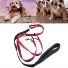 Nylon Dog Walking Lead Dicephalous Dog Leash for Medium Dogs Small Dogs Walking
