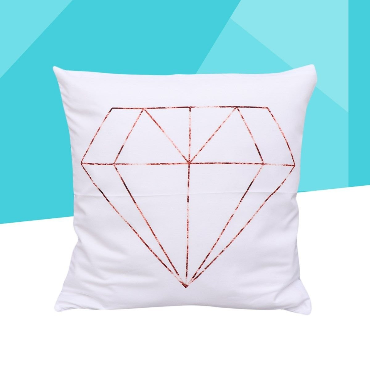 1 Pc Square Cushion Cover Throw Pillow Covers Creative Pillow Covers for 45x45cm