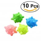 10pcs Reusable Washing Machine Cleaning Remove Clothes Stains Wash Laundry Ball