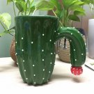 Novelty Cactus Mugs Cup Ceramic Coffee Cup Gift for Birthday