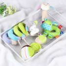 3Pcs Infant Baby Activity Spiral Bed Stroller Toy Soft Plush Hand Rattle Toy