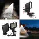 Waterproof 100 LED Solar PIR Motion Sensor Wall Light Outdoor Garden Lamp 10W