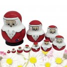 10Pcs Adorable Russian Stacking Doll Delicate Collection Toy for Decoration