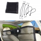Car Back Seat Pet Fence Mesh Pet Barrier Safety Net Isolation Bar Divider Buffer