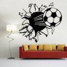 Stylish Football Wall Stickers Removable Soccer Art Murals for Home Decoration