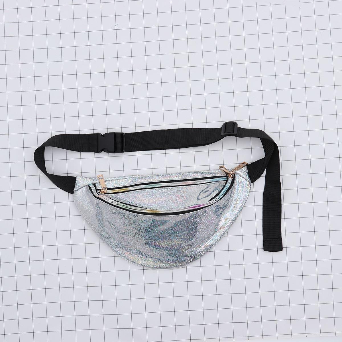 Women Men Unisex Bag Sports Waterproof Colorful Fanny Waist Chest Bag Purse Pack