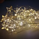 2M 20-LED Star Copper Wire String Lights for Christmas Wedding Garden Decoration