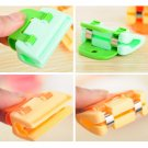 4-Piece Plastic Durable Bag Clips Fresh-Keeping Sealing Clips for Kitchen Travel