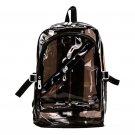 Women fashion daypack jelly handbag Backpack Cute Teenage transparent backpack