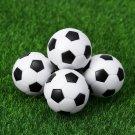 LUOEM 6PCS 32mm Small Football Cute Creative Mini Table Football