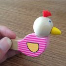 2 pcs Birds Whistles Cute Music Wooden Cartoon Instrument for Baby