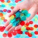 NUOLUX 400pcs 4 Colours Bingo Markers Bingo Chips Professional Bingo Chip Marker