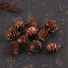 Christmas Pine Cones Ornaments Natural Delicate Xmas Tree Decoration for Home