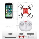 X21 Mini Remote Control Drone 4 Axis Altitude Hold Quadcopter Helicopter Red UFO