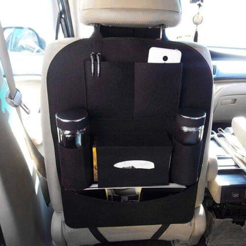 Auto Car Seat Back Multi-Pocket Storage Bag Organizer Holder Accessory Black new