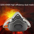 Half Face Gas Mask Dust-proof High Efficiency Filters Anti PM2.5 Respirator Dust Mask