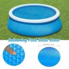 15 ft Round Swimming Paddling Pool Cover Inflatable Easy Fast Set Rope
