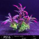 Plastic Seaweed  for Aquarium Fish Tank purple as pic
