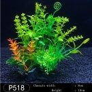 Plastic Seaweed  for Aquarium Fish Tank green