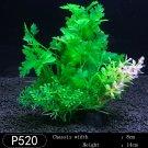 Plastic Seaweed  for Aquarium Fish Tank orange green as pic