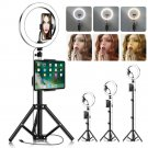 LED Selfie Ring Light with Tripod Stand&Cell Phone Holder For Makeup Live Stream USA