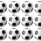 Foosball Table Foosballs - Soccer Ball Style -12 Balls