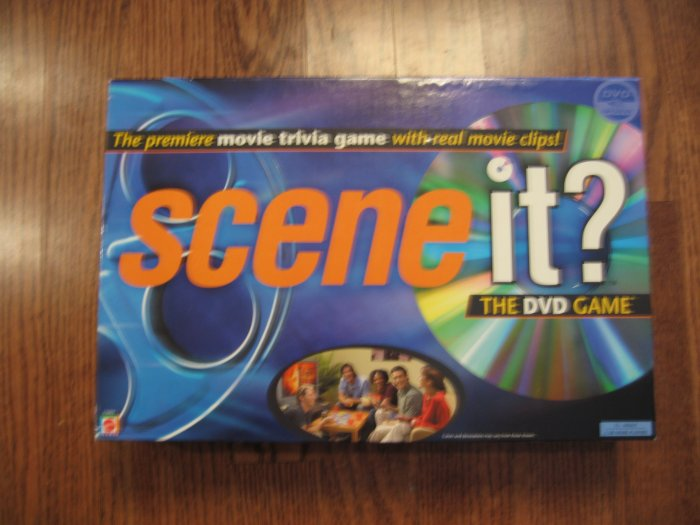 SCENE IT? The DVD Game ORIGINAL game!!! Exc Cond! Mattel Games - Family Game Night
