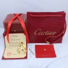 Cartier Love Bracelet and Cartier Love Ring Yellow Gold With Luxury Box Set