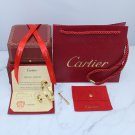 Cartier Love Bracelet and Cartier Love Ring Yellow Gold Diamond Version With Luxury Box Set