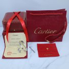 Cartier Love Bracelet and Cartier Love Ring White Gold Diamond Version With Luxury Box Set