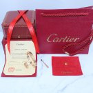 Cartier Love Bracelet and Cartier Love Ring Rose Gold Diamond Version With Luxury Box Set