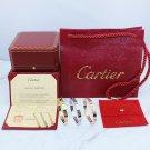 Cartier Love Bracelet 4 Diamonds Style With Luxury Box Set