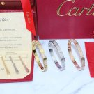 Cartier Love Bracelet Diamonds Paved Style With Luxury Box Set