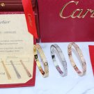 Cartier Love Bracelet Full Diamonds Paved Style With Luxury Box Set