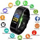 Smart Bracelet Wristwatch Heart Rate Monitor Blood Pressure Fitness Tracker