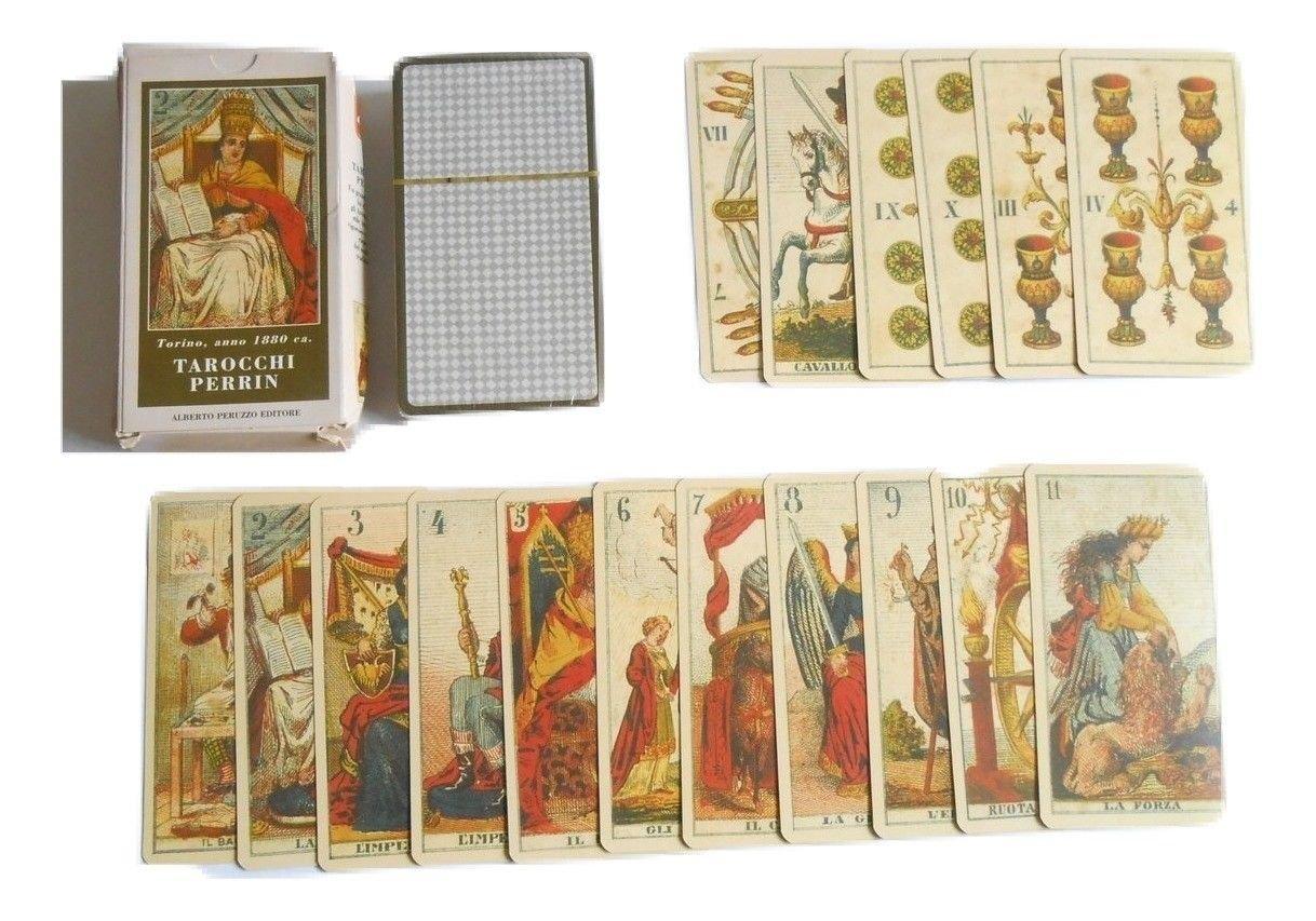 Tarot Tarocchi Perrin - 78-cards Deck