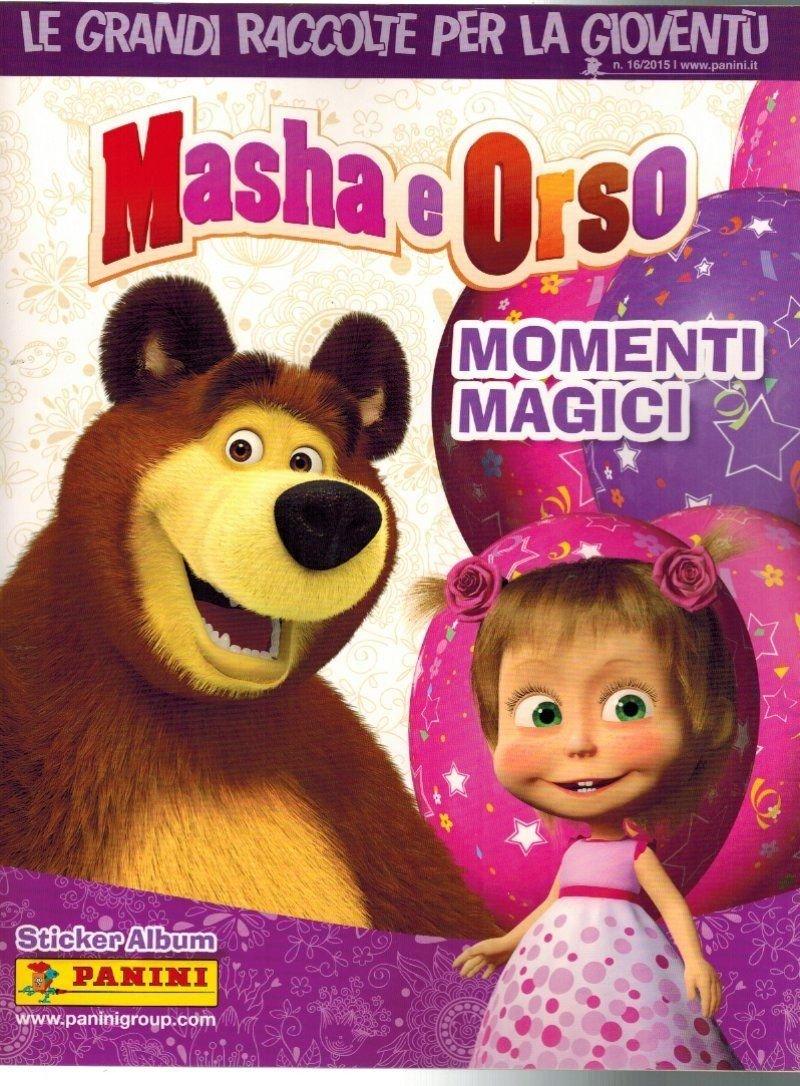 Masha and the Bear Magic Moments Empty Album Panini