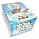 Star Wars Attack Clones Box 50 Packs Stickers Merlin