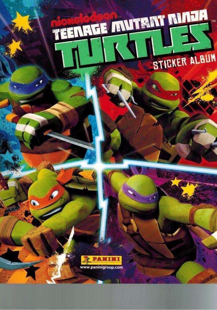 Ninja Turtles TMNT 2014 Panini Empty Album