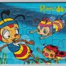 Honeybee Hutch #1 Mini Puzzle 13 Pieces Jigsaw Vintage