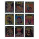 Garbage Pail Kids Holidays Special Stickers Metallic Set Sgorbions