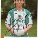 Frank Verlaat Werder Bremen Signed Photo Card