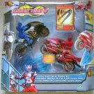 Kamen Rider Dragon Knight Action Figures Dual Rider Set