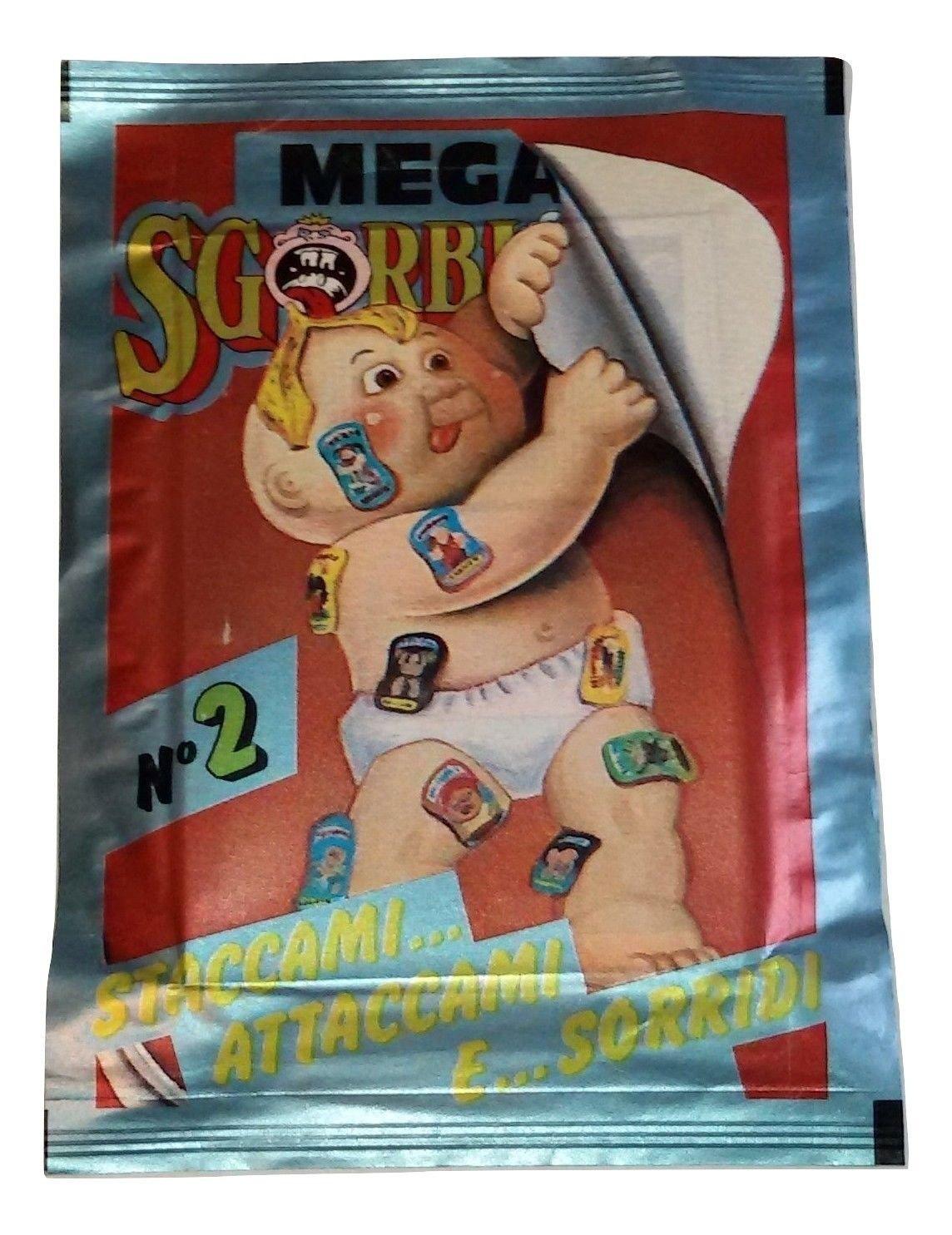 Garbage Pail Kids Mega Cards 2nd Stickers Lot 40 Packs