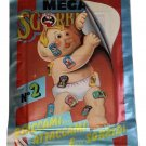 Garbage Pail Kids Mega Cards 2nd Stickers Lot 40 Packs