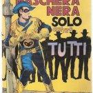 Maschera Nera # 4 Solo Contro Tutti Max Bunker Corno 1977