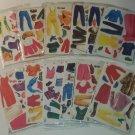 Vintage Paper Dolls Complete Set 12 Sheets Sealed Packs