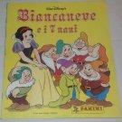 Snow White 7 Dwarfs 1994 Empty Album Panini Italy
