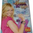 Hannah Montana Forever Empty Album Panini